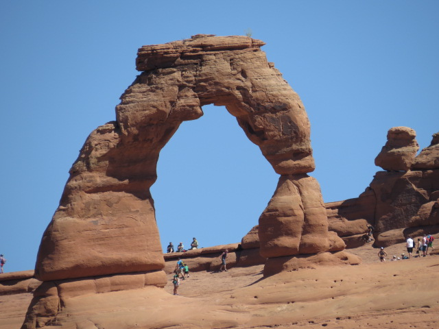 "The iconic ""Delicate Arch"""