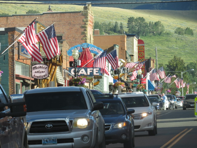Patriotic Red Lodge, Montana