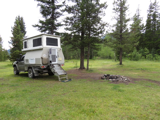 First nights camp in Canada