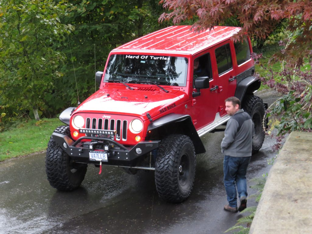 The awesome rock crawler
