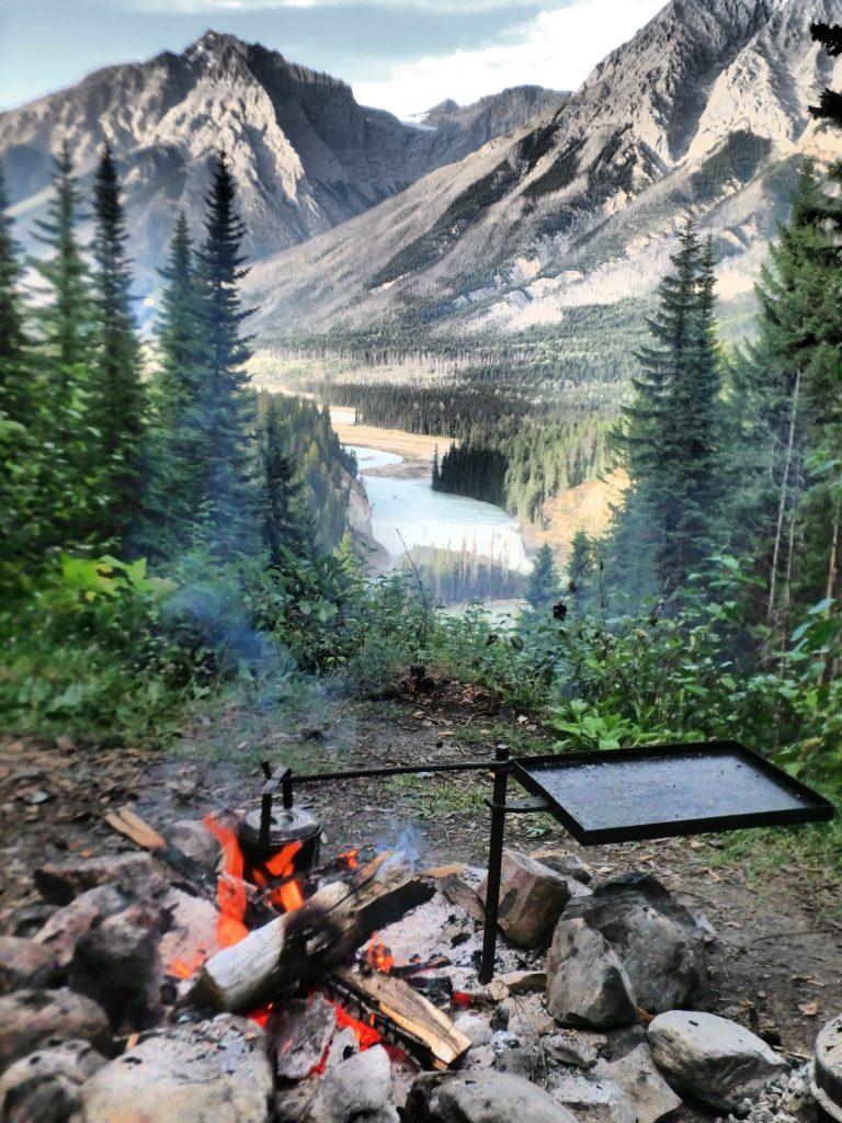 Wapta Falls Campfire