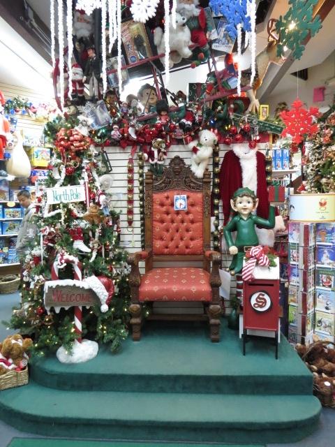 Santa's Throne
