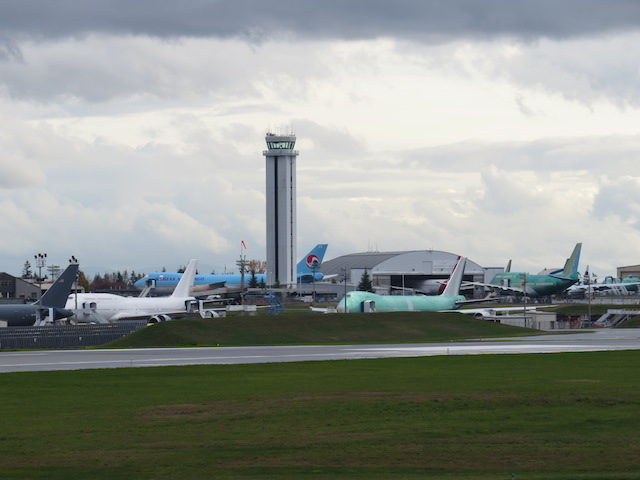 Boeing Factory Delivery Lot