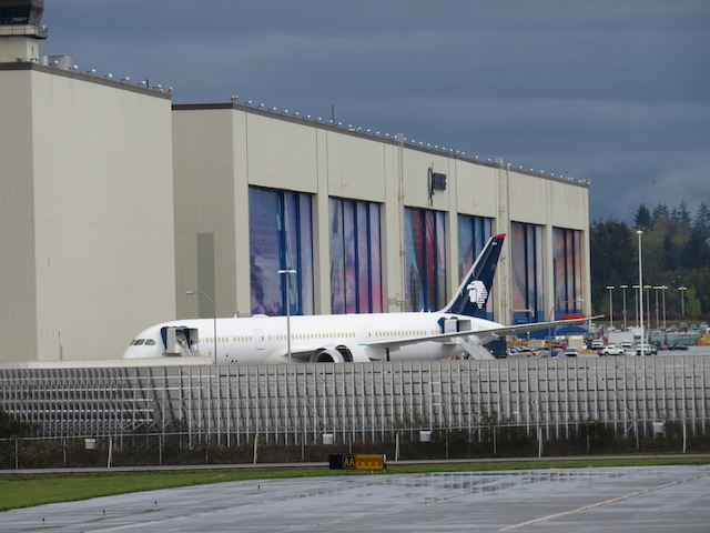 """The """"large"""" Boeing Assembly Building"""