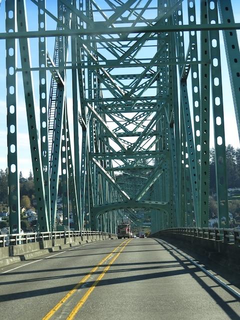 Bridges along the coast drive