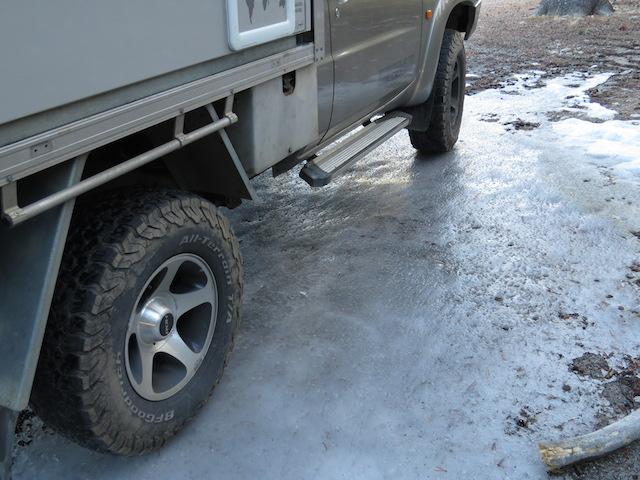 Parked on Ice