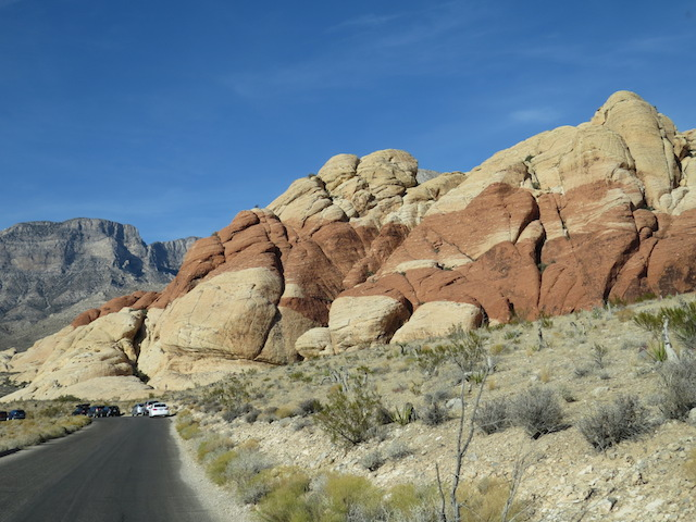 Red Rock Canyon outside Las Vegas