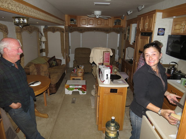 Inside Laurie and Ron's Palatial 5th Wheel