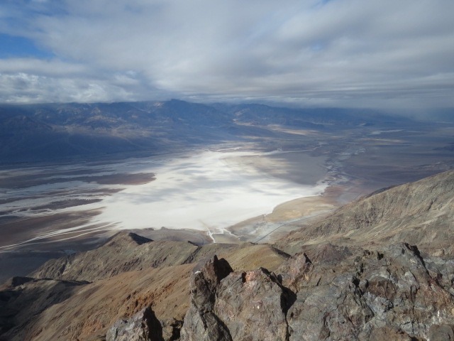 Badwater Basin Viewed from Dante's Peak