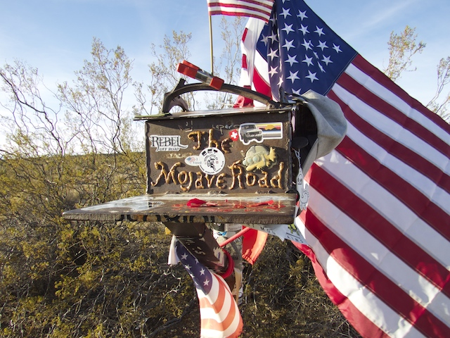 Mojave Road Guestbook and Shrine