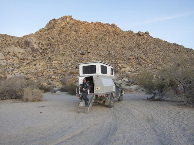 Wildcamping in Mojave