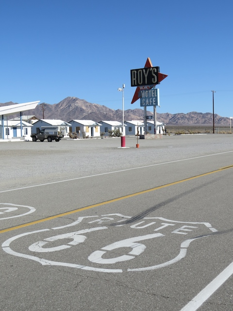 Amboy on Old Route 66 - now pretty much abandoned
