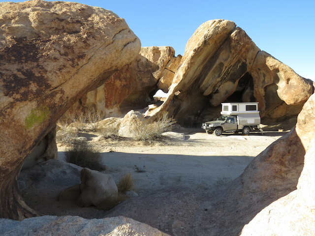 Our Protected Camp - Blissfully still!