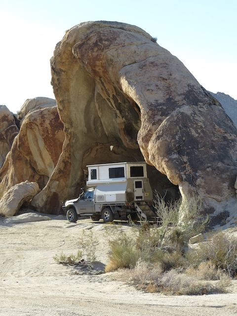 When do you ever find a campsite like this???