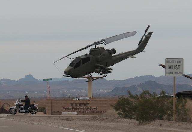 Migs on sticks - choppers on sticks - same, same