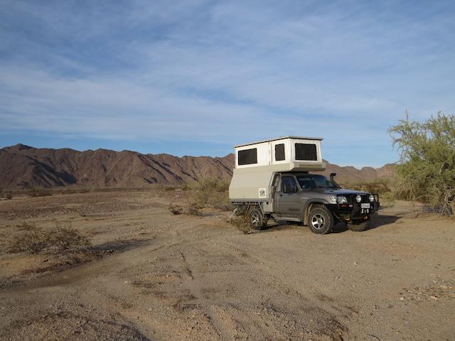 Sidewinder Rd Camp - Mexico tomorrow...