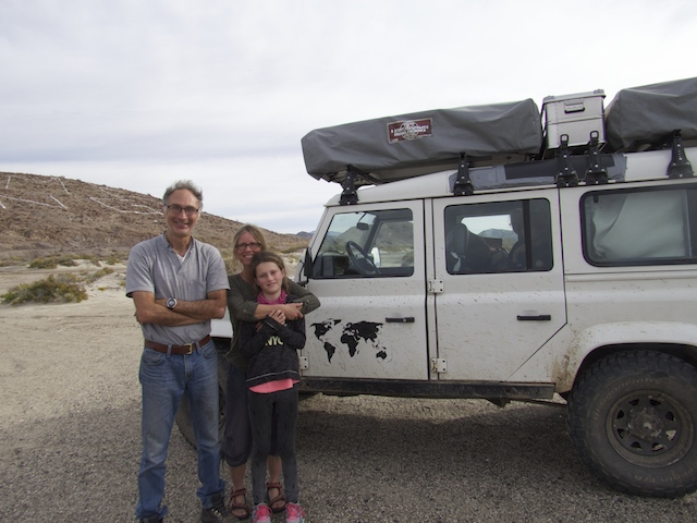 Danish family with 3 kids travelling the world woth 2 roof top tents
