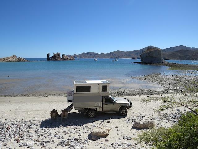 Our San Basilio camp - stunning