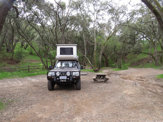 Another 4WD vehicle recreation area camp