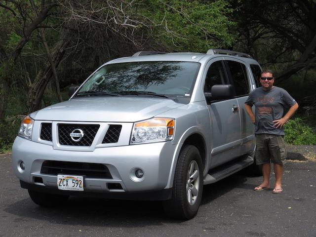 The Nissan Armada