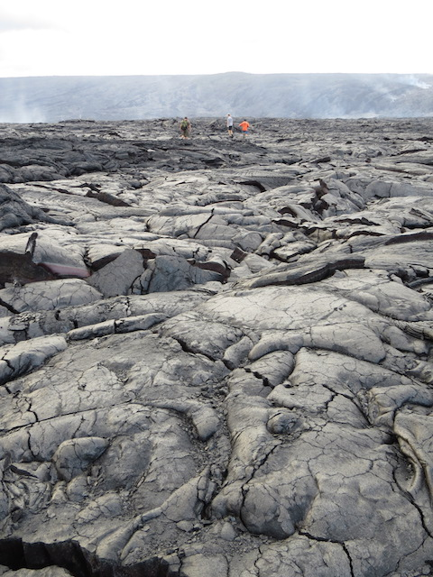 The aimless pursuit of lava